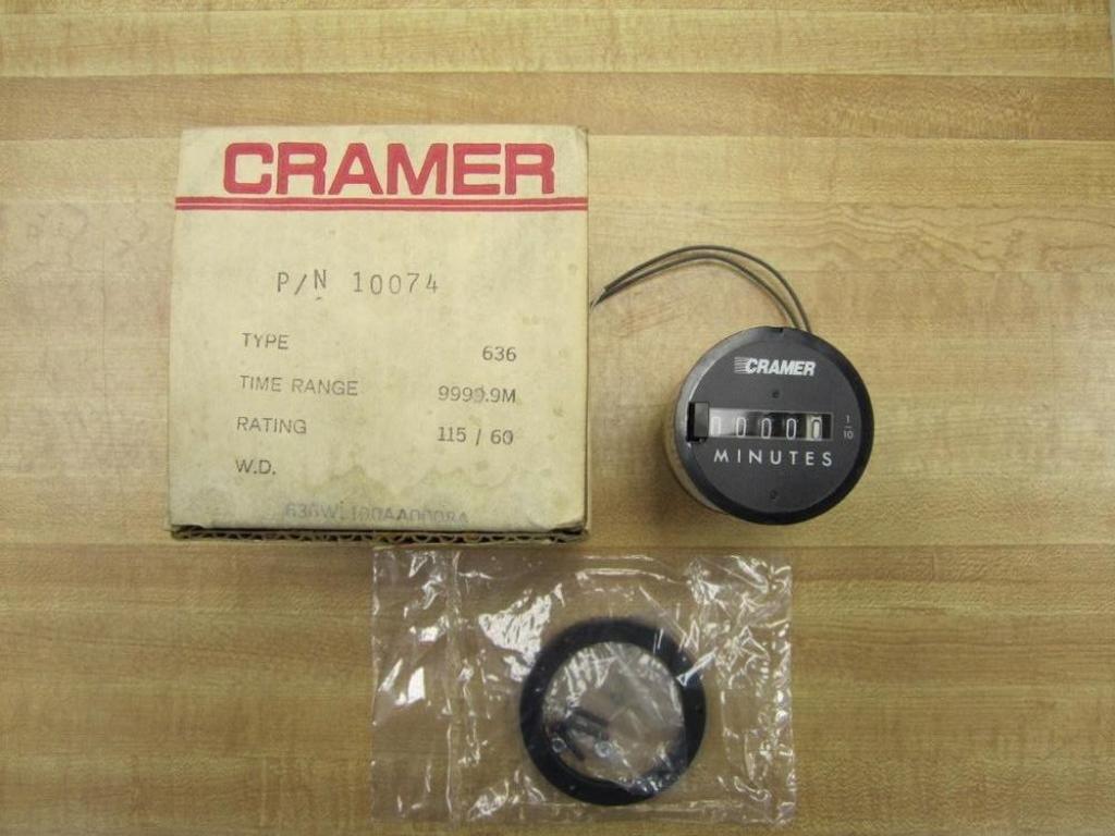 Cramer 10074 Electromechanical Motor Timer