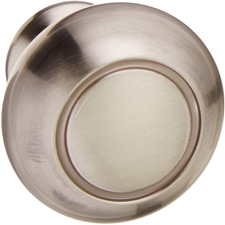 Amerock BP53011-10PACK Allison Value Hardware 1-1/4 Inch Diameter Mushroom Cabin, Satin Nickel