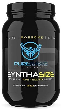 Pure Rawz Supplementz- Pure Protein Whey Isolate Powder for Men and Women, 30 Servings (Chocolate Flavor)
