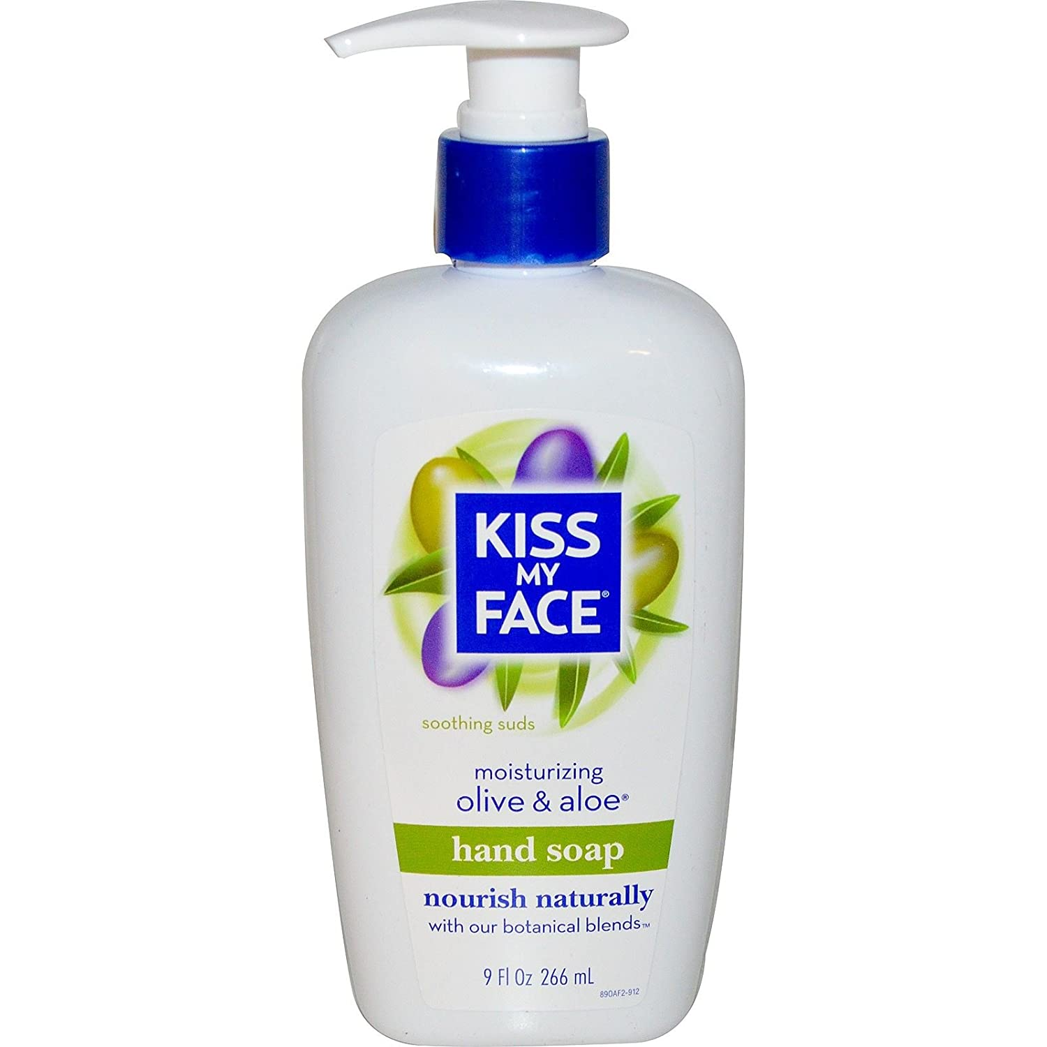 Kiss My Face Moisturizing Hand Soap, Olive & Aloe 9 oz