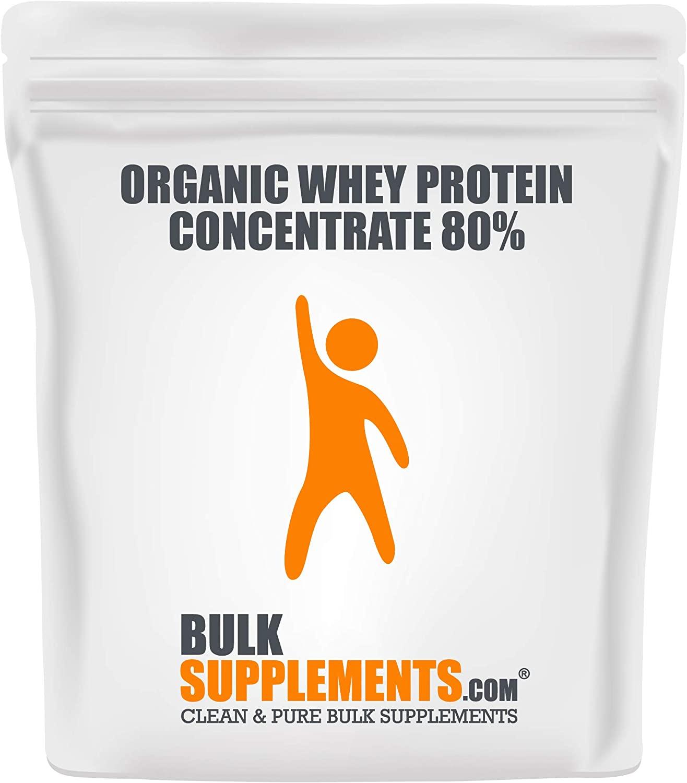 Bulksupplements Organic Whey Protein (250 Grams)