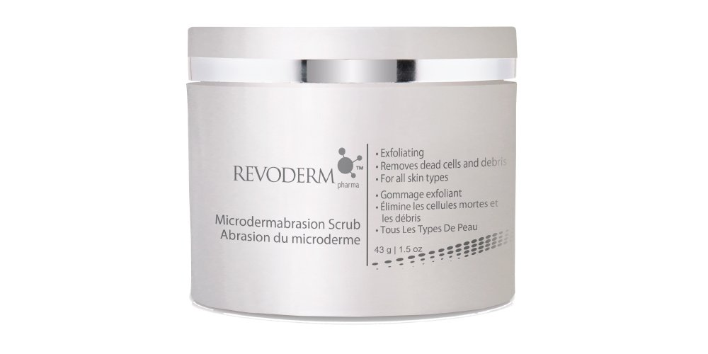 Revoderm Microdermabrasion Face Scrub & Exfoliant for Adult Acne and Hyperpigmentation - 43 G (1.5 Oz)