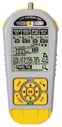 Triplett / Byte Brothers LVPRO2 Multifunctional Cable Tester for RJ45 RJ11 and Coax Test Cable Length