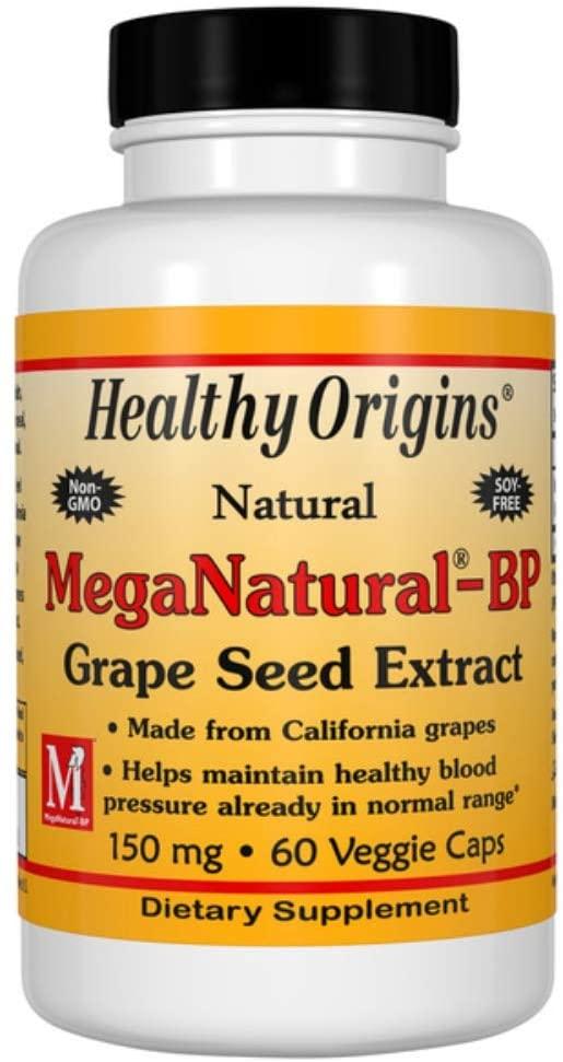 Natural Meganatural-Bp Grape Seed Extract 150 Milligrams 60 Veg Capsules