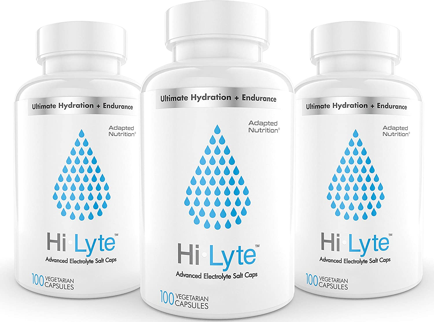 Electrolyte Replacement Tablets for Rapid Rehydration   Stops Cramps & Gentle on Stomach   Magnesium, Potassium, Sodium & Zinc +   300 Capsules
