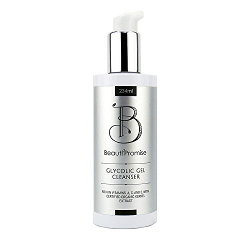 BeautiPromise Glycolic Gel Cleansers 8oz Made in USA