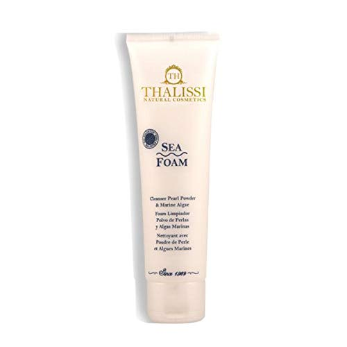 SEA FOAM Sulphate Free Makeup Remover with White Pearl and Seaweed Powder