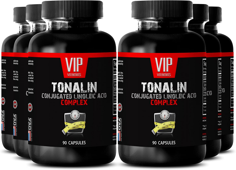 Cla linoleic Acid - TONALIN Conjugated Linoleic Acid Complex - Gain Muscle Lose Fat - 6 Bottles 270 Capsules