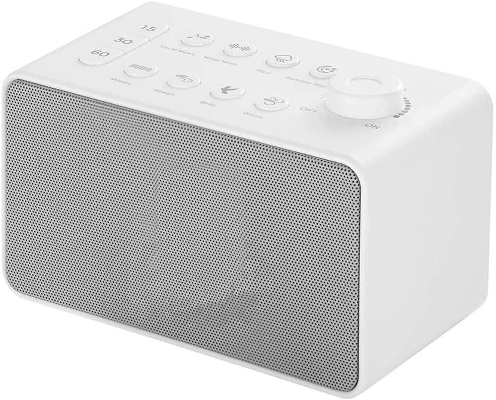 Sleep Therapy, Sound Machine for Sleeping Relaxation, Sound Spa Relaxation Machine, Premium Baby Sleep Therapy Sound Machine, White Noise Sound Machine Portable Sleep Therapy for Home