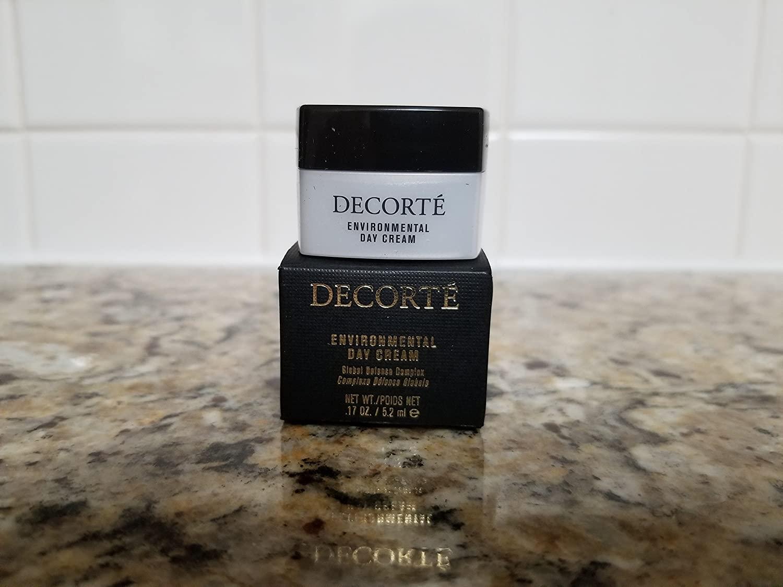 Decorte Environmental Day Cream, Travel Size, 0.17 oz/5.2 ml
