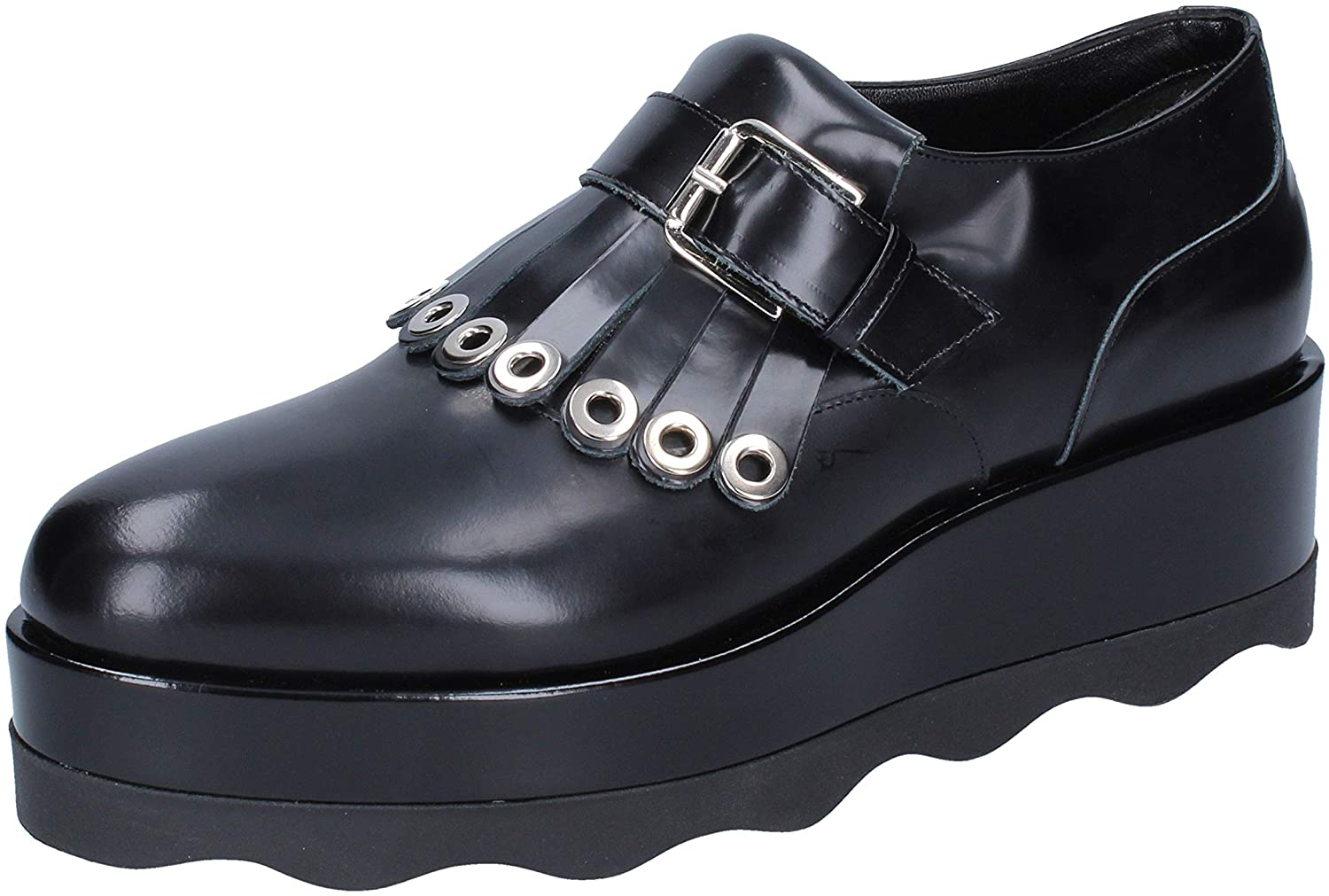ALBANO Loafers-Shoes Womens Leather Black