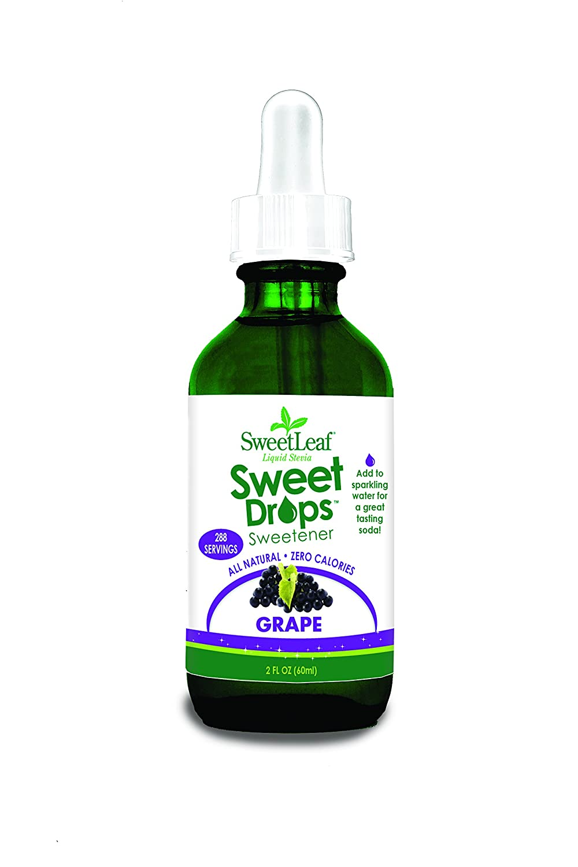 SweetLeaf Sweet Drops Liquid Stevia Sweetener, Grape, 2 Ounce