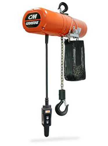 CM 2719NH Electric Chain Hoist, 500 lb. Working Load Limit, 10' Lift