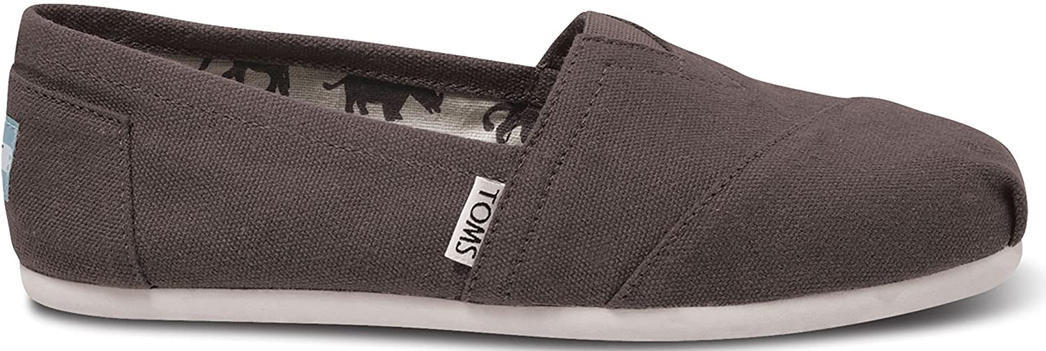 TOMS Women's Classic Canvas Slip On Ash 9.5 B(M) US