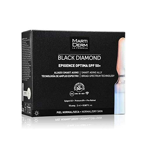 MartiDerm Black Diamond Epigence Optima Spf 50+ 10 ampoules x 2ml Anti-aging Gift For Treatment Your Skin
