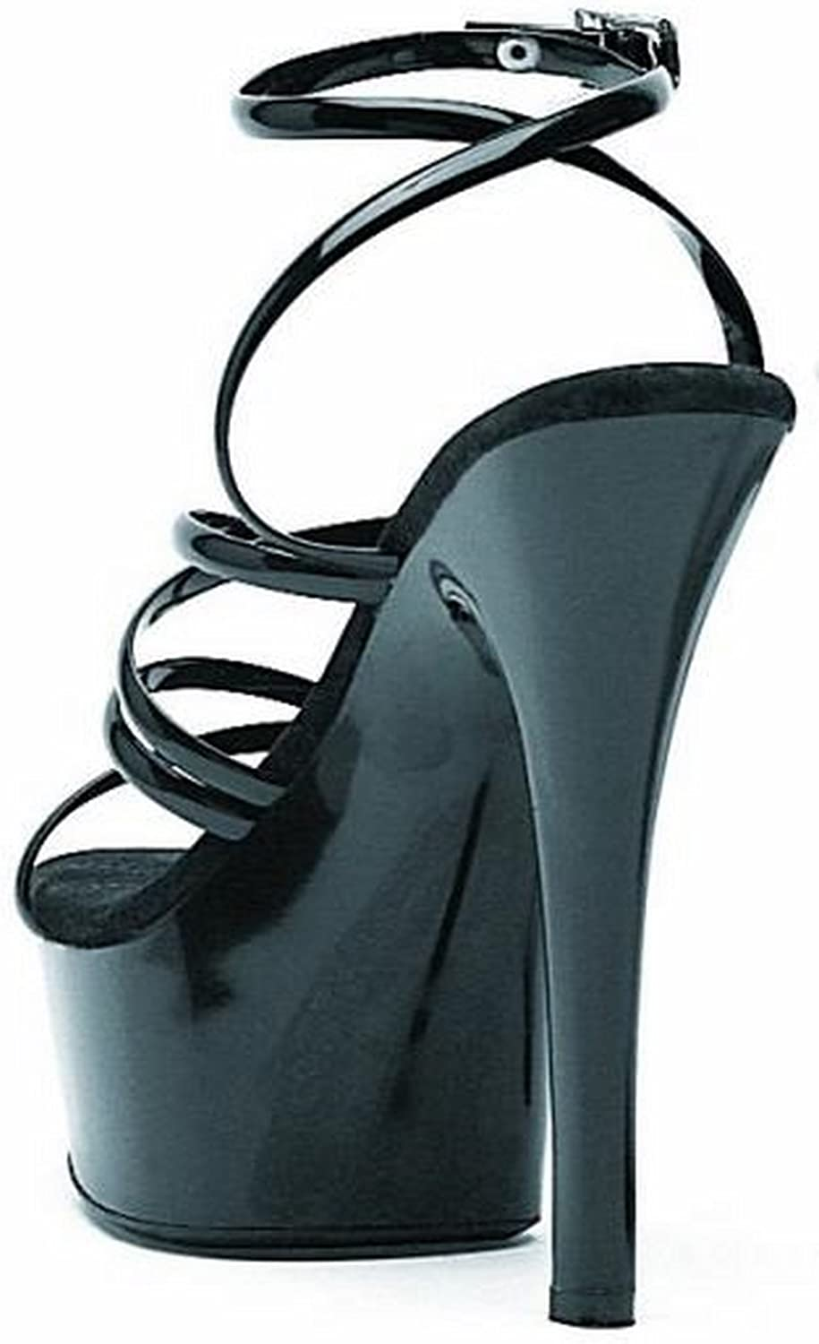 Ellie Shoes Womens 6 Inch Heel Strappy Sandal