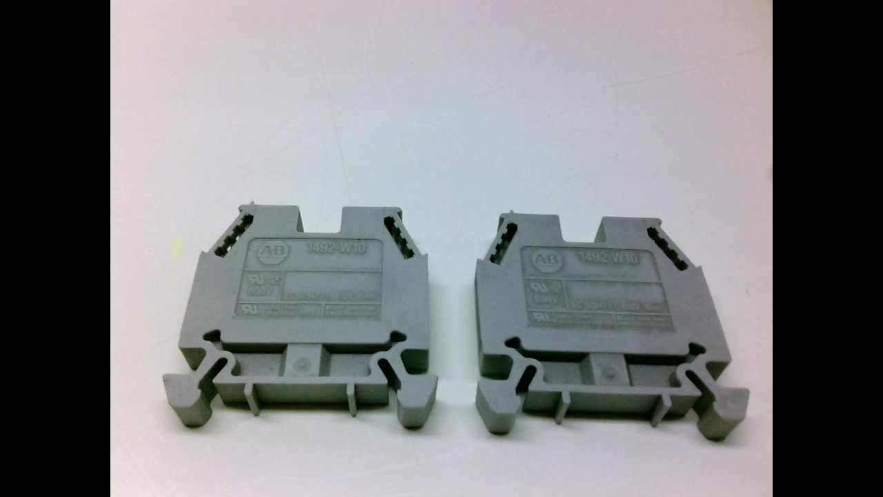 Allen Bradley 1492-W10 - Pack of 2 - Terminal Block 1492-W10 - Pack of 2 -