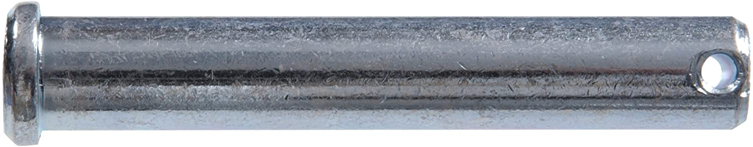 The Hillman Group 43972 1/2 x 3-Inch Single Hole Clevis Pin, Stainless Steel, 4-Pack