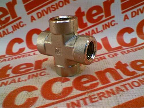 HANNIFIN 3/4KMM00-S Pipe Fitting Cross 3/4IN