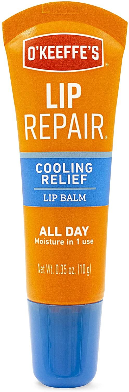 O'Keeffe's Cooling Relief Lip Repair Lip Balm.35 Ounce Tube