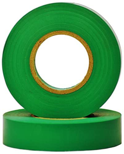 Queens of Christmas WL-ETape-GR Electrical Tape, Green
