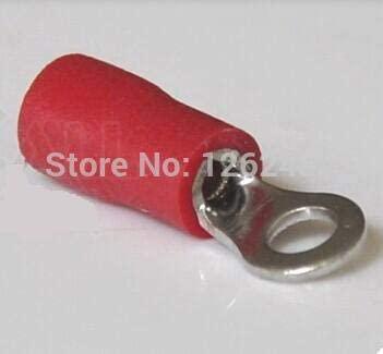 Onvas RV1.25-3 brass red circular pre insulated terminal cold pressed terminal copper nose