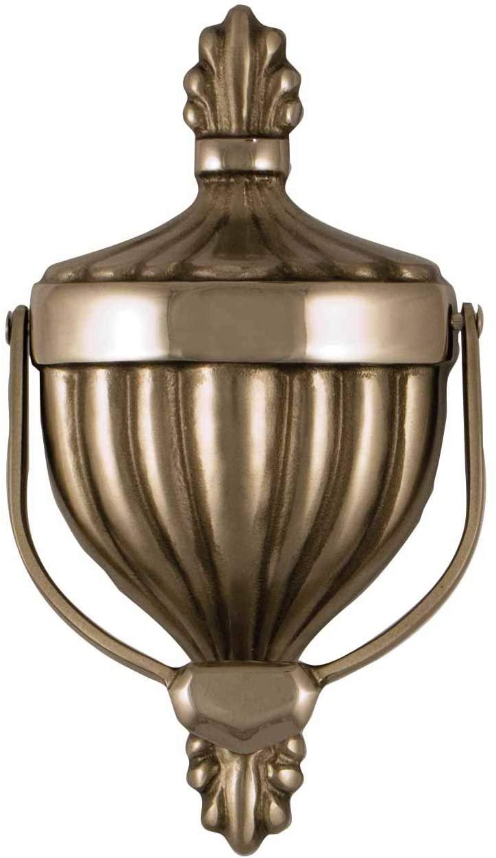 Victorian Urn Door Knocker - Nickel (Premium Size)
