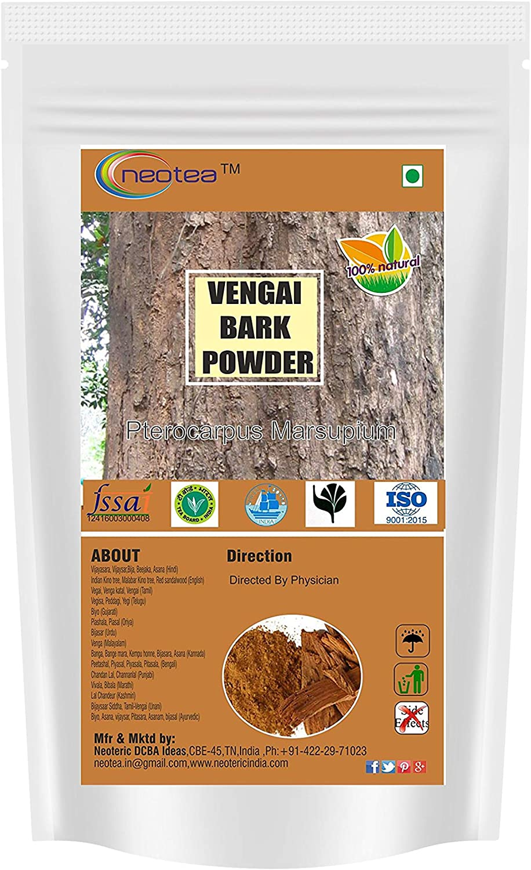 Neotea Vijaysar/Vengai/Bijasal/Pteocarpus Marsupium Bark Powder, 1kg