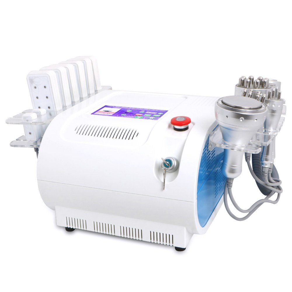 Body Shaper Skin Care 8 In 1 Multifunctional Vacuum RF Photon Equipment With Elitzia Collagen Cream And Gel ETUU7001S