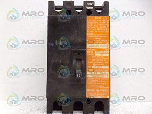 GE TMQD32060 3 pole Bolt-on TMQD Type 60 amps circuit breaker