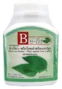 Be-fit Black Pepper and Green Tea, 60 Herbal Slimming Capsules