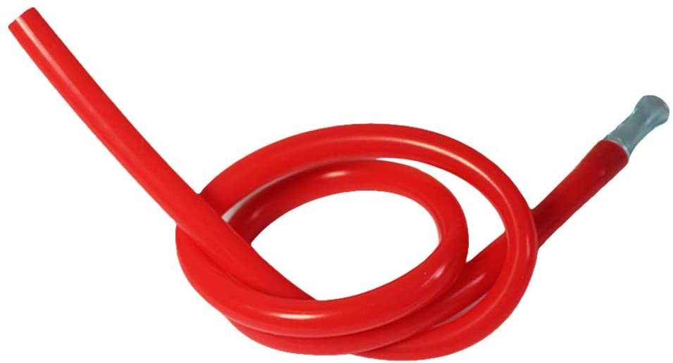 XIAO-WU Professional Hookah Silicone Hose Tube Shisha Water Pipe Tool Accessories 50cm for Man Woman - Red
