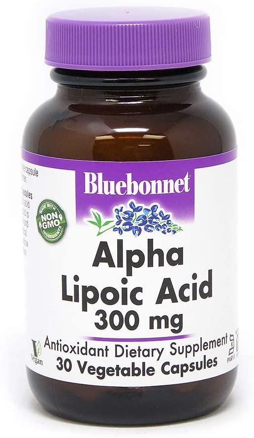 BLUEBONNET NUTRITION ALPHA LIPOIC ACID 300 mg