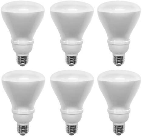 TCP 14-Watt Soft White Compact Fluorescent Flood Light Bulb (6 Pack)