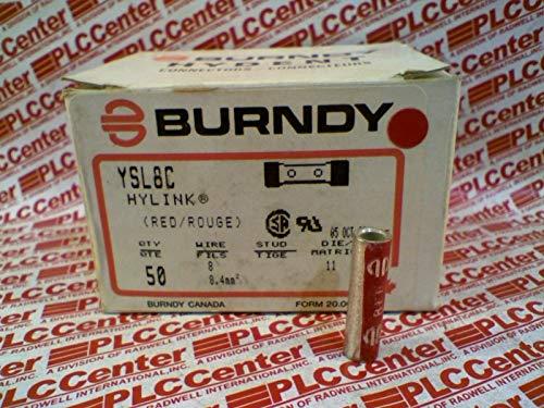 BURNDY YSL8C Short Barrel Compression Lug DIE11 8STR