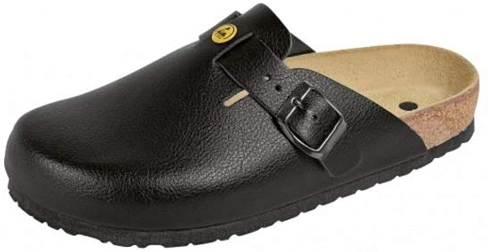 Weeger Women's ESD Antistatic Leather Clog