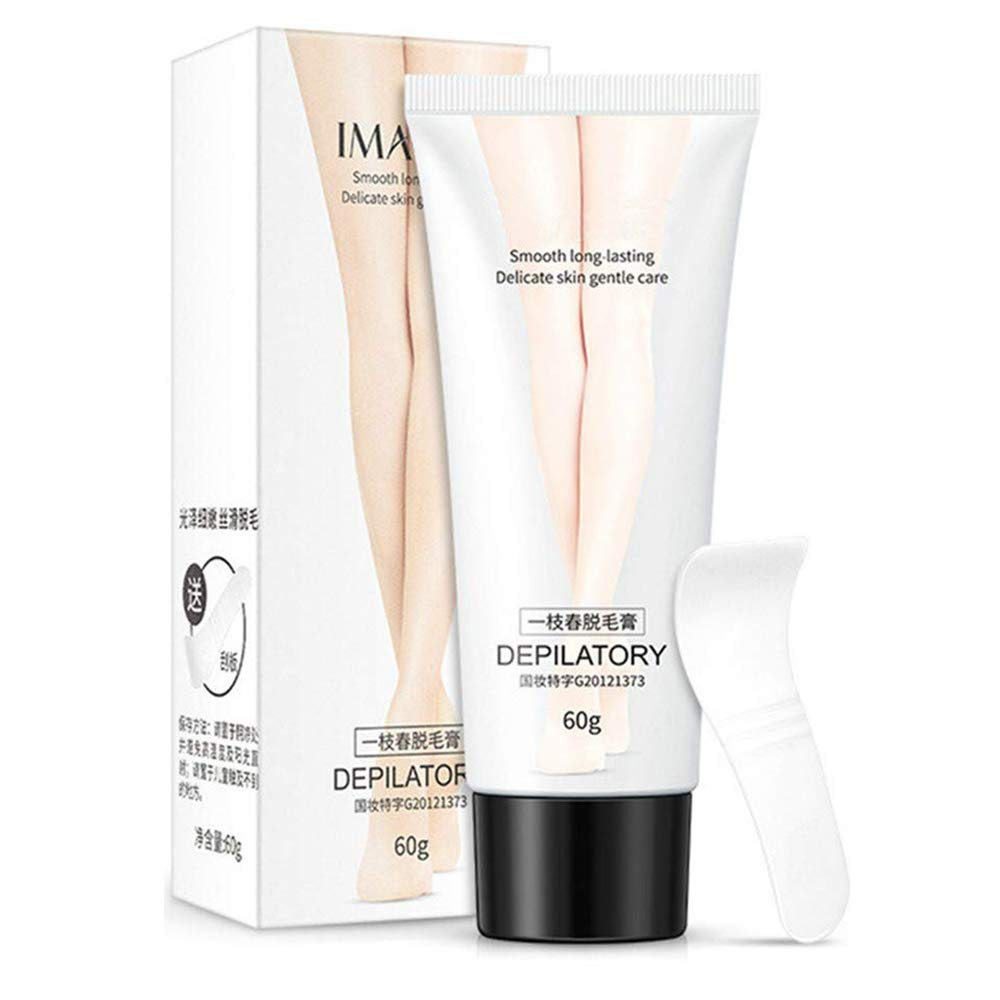 Hair Removal Cream - Depilatory Cream - Skin Friendly Painless Flawless Hair Remover Cream for Women and Men