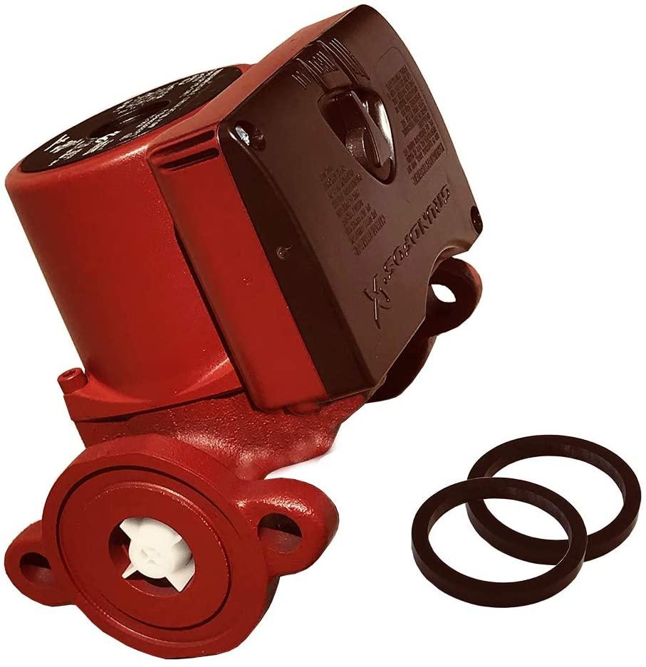 Grundfos UPS15-58FC Circulator Pump, Red