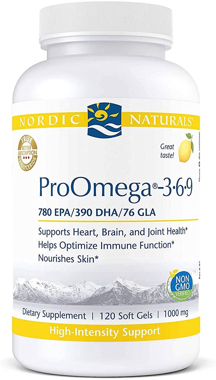 ProOmega-3.6.9 120 Soft gels 1000mg