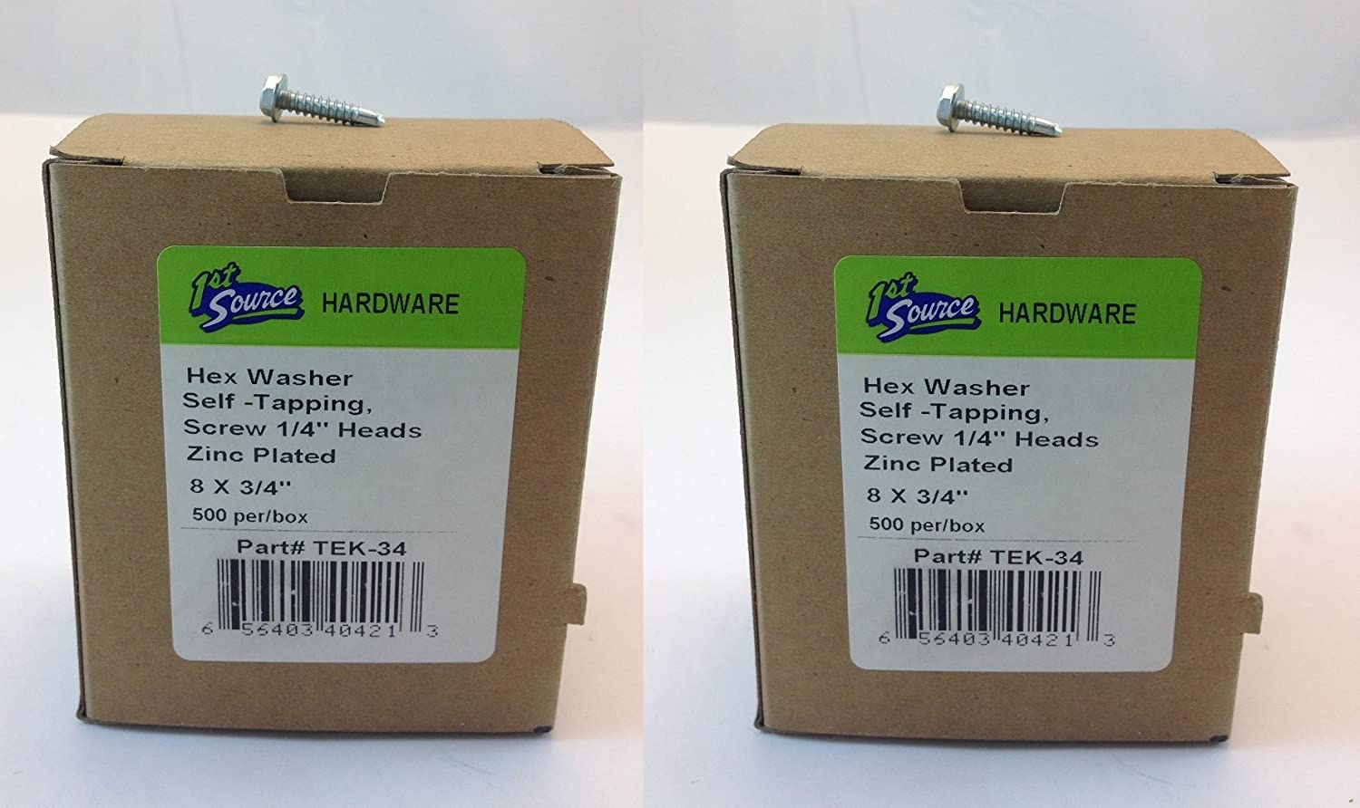 HEX Washer/SELF Tapping Screws 1/4