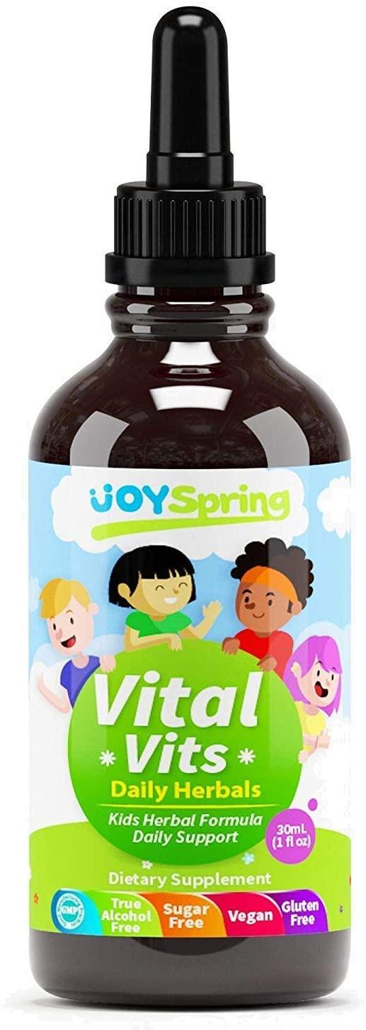 Liquid Vitamins for Kids - Immune System Booster for Kids, Best Immune System Support for Children, Great Tasting Children's Vitamins, Multivitamins for Kids