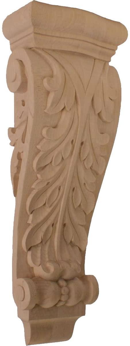 Ekena Millwork COR07X03X20FRLW-CASE-4 Corbel, Factory Primed