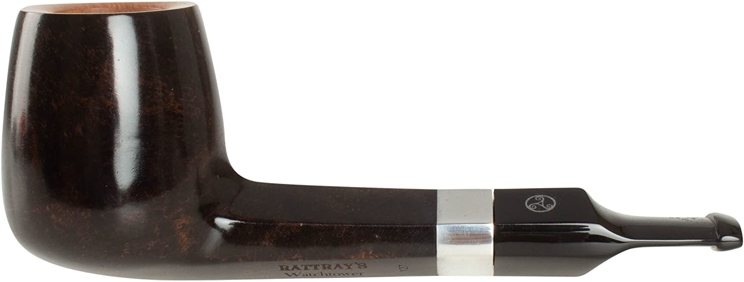 Rattray's Watchtower 127 Tobacco Pipe - Grey