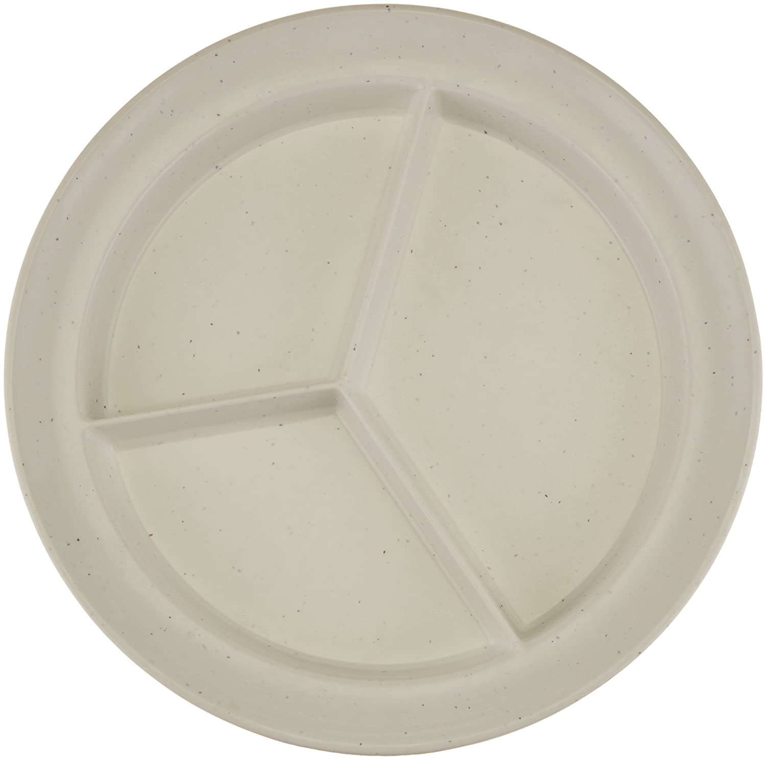 Sammons Preston Compartment Dishes, Break-Resistant Polyester Plastic with Non-Skid Bottom, 8.75