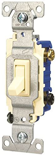 Cooper 1303-7A Almond 3-Way Toggle Light Switch (Pack of 10)
