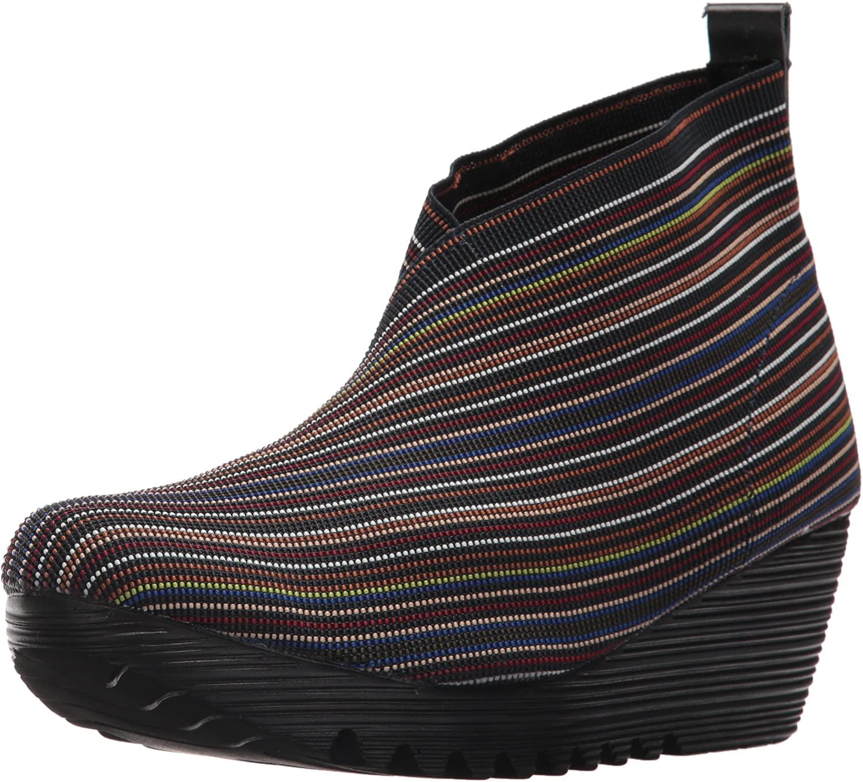Bernie Mev Women's Maile Fashion Boot, Black Mix, 36-41 M Medium EU (38 US)