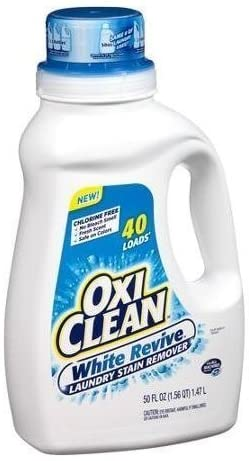 OxiClean, White Revive, Laundry Stain Remover, Liquid -40 Loads
