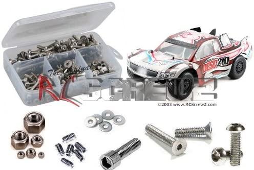 RC Screwz Durango DESC-210R Stainless Steel Screw Kit RCZDURG009