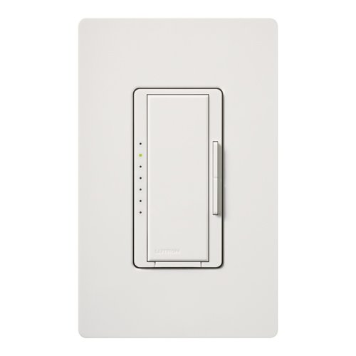 Lutron Maestro CL Dimmer for LED/CFL/HAL/INC Snow