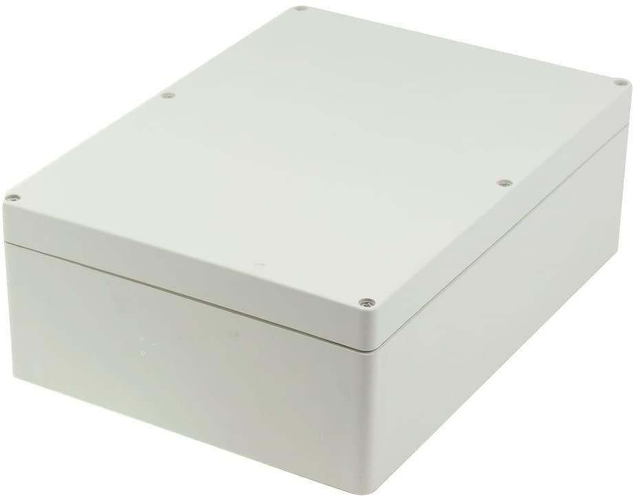 BestTong Waterproof Dust-proof IP65 ABS Plastic Junction Box Universal Electric Project Enclosure 11.4 x 8.2 x 3.9 Inches(290mm x 210mm x 100mm)